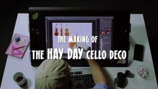 The making of: Hay Day Cello Decoration